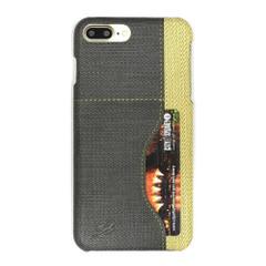 Black Woven Pattern Leather iPhone 8 PLUS & 7 PLUS Case | Protective iPhone 8 PLUS & 7 PLUS Cases | Protective iPhone 8 PLUS & 7 PLUS Covers | iCoverLover