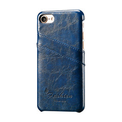 iPhone SE (2020) / 8 / 7 Case Blue Deluxe Leather Cover | iCoverLover