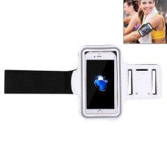White Sports iPhone 8 PLUS & 7 PLUS Case Armband | Sport Universal Accessories | iCoverLover