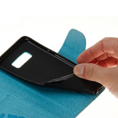 Purple Butterflies Embossed Leather Wallet Samsung Galaxy S8 Case | Leather Samsung Galaxy S8 Cases | Fashion Samsung Galaxy S8 Covers | iCoverLover