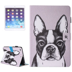 French Bulldog Leather Wallet iPad 2017 9.7-inch Case | Leather iPad 2017 Cases | iPad 2017 Covers | iCoverLover