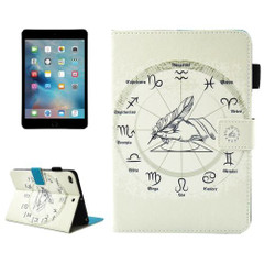 Twelve Constellations Leather Wallet iPad mini 4, 3, 2 & 1 Case  | Leather Samsung Galaxy Tab S3 Covers | Leather Samsung Galaxy Tab S3 Cases | iCoverLover
