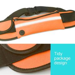 Orange Stylish Waterproof Outdoor 6-inch Phone Waist Bag | Running Sports Accessories | Phone Accessories | iCoverLover