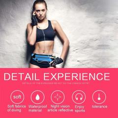 Blue Stylish Waterproof Outdoor 6-inch Waist Bag | Running Sports Accessories | Phone Accessories | iCoverLover