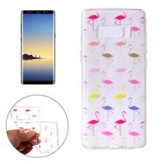Colorful Flamingos Samsung Galaxy Note 8 Case | Protective Samsung Galaxy Note 8 Cases | Protective Samsung Galaxy Note 8 Covers | iCoverLover