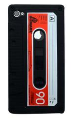 Black Cassette Tape iPhone 4 Case   Cassette iPhone 4 Case   Tape iPhone 4 Cover   iCoverLover