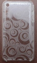 Translucent Geometrical Circles iPhone 3, 3GS Case | Best iPhone Cases | Best iPhone Covers | iCoverLover