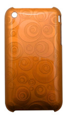 Orange Geometrical Circles iPhone 3, 3GS Case | Best iPhone Cases | Best iPhone Covers | iCoverLover