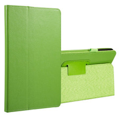 Green Litchi Leather Samsung Galaxy Tab A 8.0 Case | Leather Samsung Galaxy Tab A 8.0 (2017) Covers | Leather Samsung Galaxy Tab A 8.0 (2017) Cases | iCoverLover