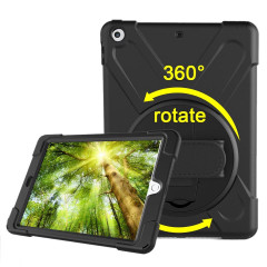 Black Hand-strap Armor iPad 2017 9.7-inch Case | Armor iPad 2017 Cases |  Armor iPad 2017 Covers | iCoverLover
