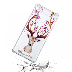 Letter Elk Pattern Samsung Galaxy Note 9 Back Case | Protective Samsung Galaxy Note 9 Cases | iCoverLover