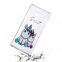 Sweet Unicorns Pattern Samsung Galaxy Note 9 Back Case | Protective Samsung Galaxy Note 9 Cases | iCoverLover