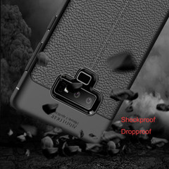 Samsung Galaxy Note 9 Case Black Shockproof TPU Back Cover | Shielding Samsung Galaxy Note 9 Cases | iCoverLover