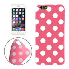 Pink and White Polka Dot iPhone 6 Plus & 6S Plus Case | Cool iPhone Cases | iPhone Covers | iCoverLover