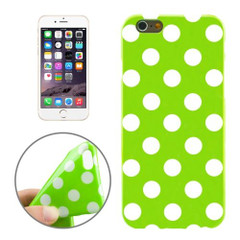 Green and White Polka Dot iPhone 6 Plus & 6S Plus Case | Cool iPhone Cases | iPhone Covers | iCoverLover