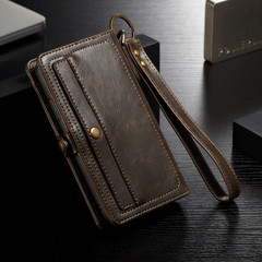 iPhone XS Max Case Brown Wallet-style Leather Folio Cover with Card Slots, Cash Pocket and Detachable Inner Case | Leather Apple iPhone XS Max Cases | Leather Apple iPhone XS Max Covers | iCoverLover