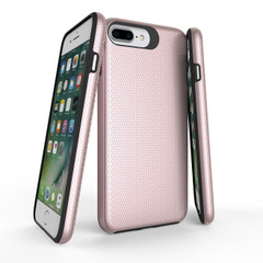 Rose Gold Armor iPhone SE (2020) / 8 / 7 / 6s / 6 Case | iCoverLover