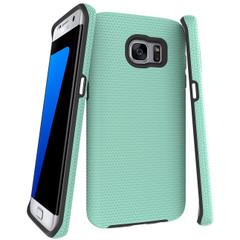 Dark Mint Armor Samsung Galaxy S7 EDGE Case | Armor Samsung Galaxy S7 Edge Cases | Armor Samsung Galaxy S7 Edge Covers | iCoverLover