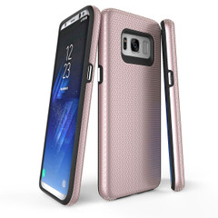 Rose Gold Armour Samsung Galaxy S8 Case | Armor Samsung S8  Covers | Armor Samsung S8 Cases | iCoverLover