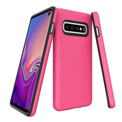 Samsung Galaxy S10 Case Pink Ultra Thin Shockproof PC+TPU Armour Back Cover   Armor Samsung Galaxy S10 Covers   Armor Samsung Galaxy S10 Cases   iCoverLover