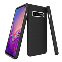 Samsung Galaxy S10 Case Black Ultra Thin Shockproof PC+TPU Armour Back Cover | Armor Samsung Galaxy S10 Covers | Armor Samsung Galaxy S10 Cases | iCoverLover