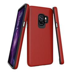 Red Armour Samsung Galaxy S9 Case | Armor Samsung Galaxy S9 Cases | Shielding Samsung Galaxy S9 Covers | iCoverLover