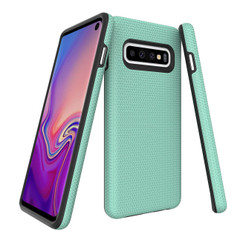 Samsung Galaxy S10 Case Mint Ultra Thin Shockproof PC+TPU Armour Back Cover | Armor Samsung Galaxy S10 Covers | Armor Samsung Galaxy S10 Cases | iCoverLover