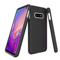 Samsung Galaxy S10e Case Black Armour | Protective Samsung Galaxy S10e Covers | Protective Samsung Galaxy S10e Cases | iCoverLover