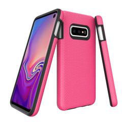 Samsung Galaxy S10e Case Pink Armour   Protective Samsung Galaxy S10e Covers   Protective Samsung Galaxy S10e Cases   iCoverLover