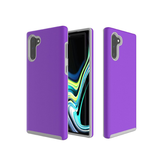 Samsung Galaxy Note 10 Case Armour Protective Strong Cover, Purple   iCoverLover Australia