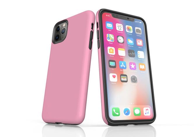 iPhone 11 Pro Max, 11 Pro, 11, XS Max, XS/X, XR, 8/7/6 Plus, SE/5S/5 Tough Case, Pink   iCoverLover