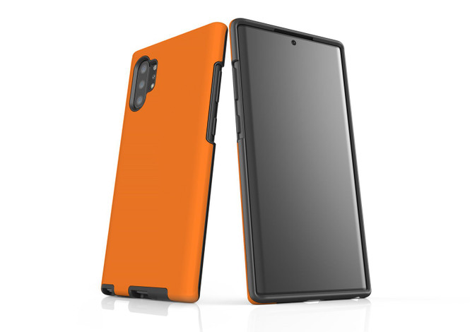 Samsung Galaxy Note 10+ Plus, Note 10, Note 9, Note 8 & Note 5 Case, Protective Tough Protective Cover, Orange