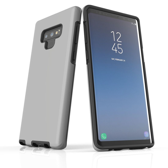 Samsung Galaxy Note 10+ Plus, Note 10, Note 9, Note 8 & Note 5 Case, Protective Tough Protective Cover, Grey