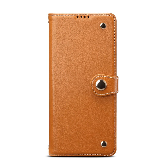 Samsung Galaxy S20/20+ Plus/20 Ultra 4G 5G Case, Genuine Leather Wallet in Light Brown | iCoverLover Australia
