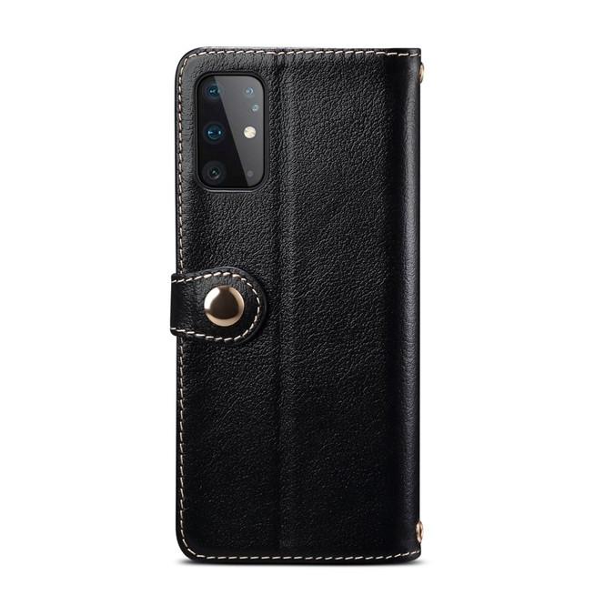 Samsung Galaxy S20/20+ Plus/20 Ultra 4G 5G Genuine Leather Luxury Wallet, Black Case   iCoverLover Australia