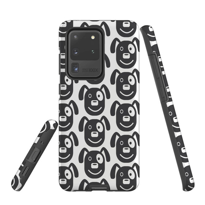 For Samsung Galaxy S10 5G Protective Case, Dog Head Pattern | iCoverLover Australia