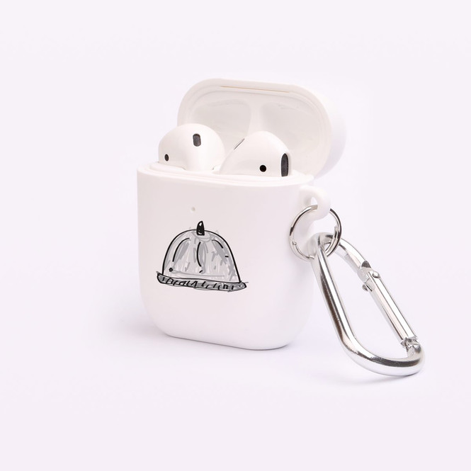 AirPods 1 & 2 Case, Protective TPU Box with Hook, Drawn Platter with Cover | iCoverLover Australia