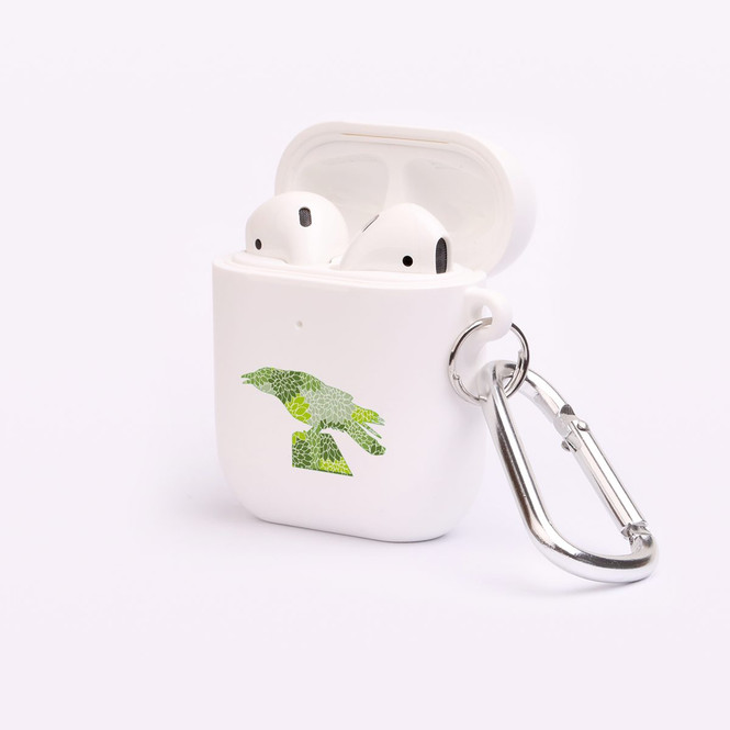 AirPods 1 & 2 Case, Protective TPU Box with Hook, Floral Crow   iCoverLover Australia