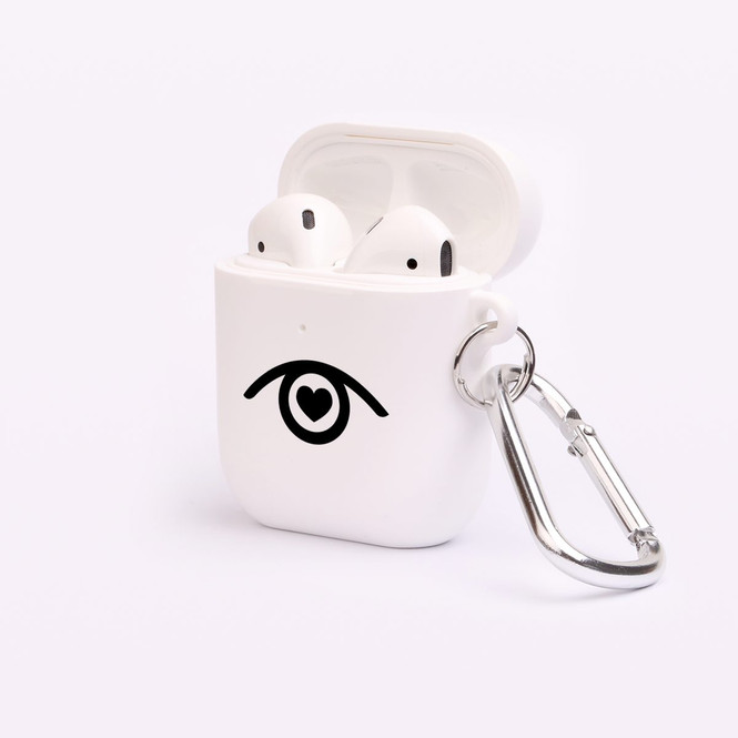 AirPods 1 & 2 Case, Protective TPU Box with Hook, Look of Love | iCoverLover Australia