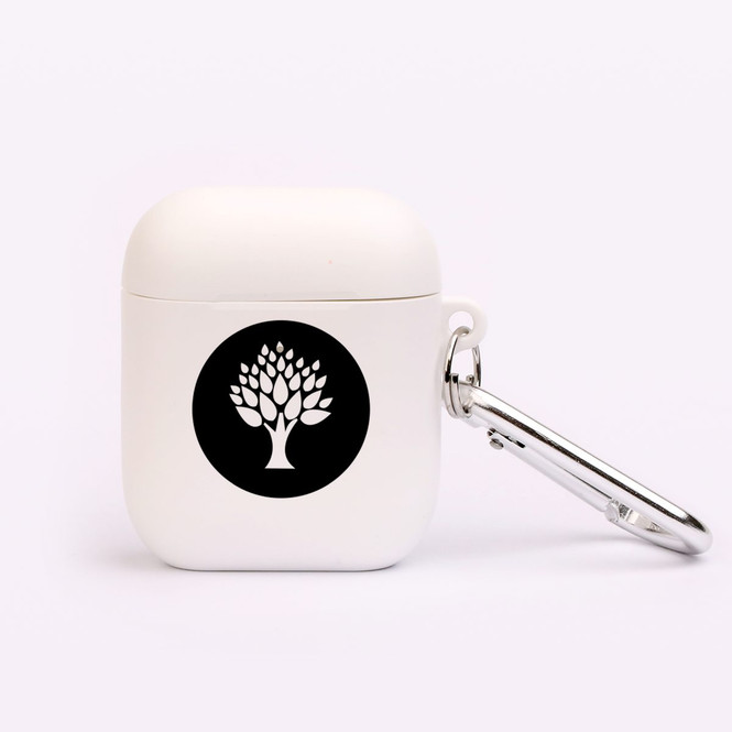 AirPods 1 & 2 Case, Protective TPU Box with Hook, Circled Leafy Tree | iCoverLover Australia