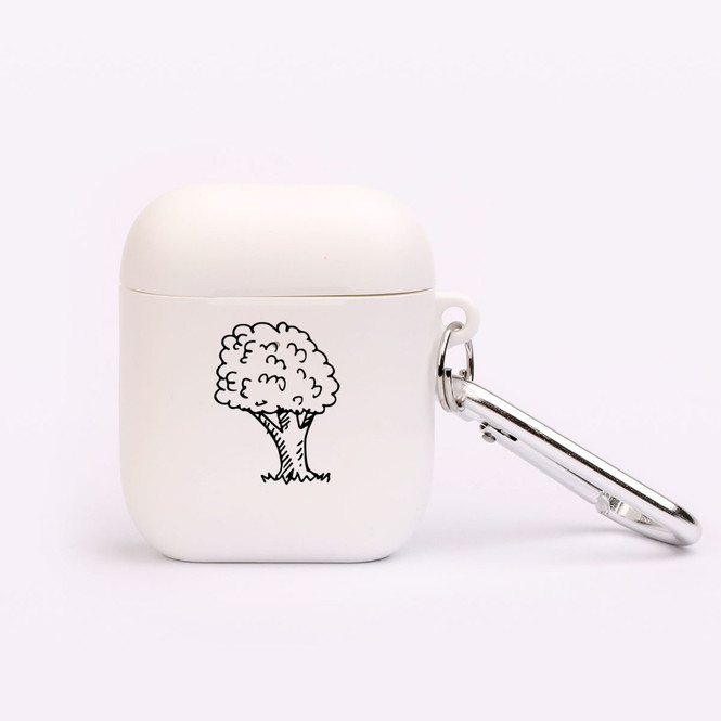AirPods 1 & 2 Case, Protective TPU Box with Hook, Tree in the Wind | iCoverLover Australia