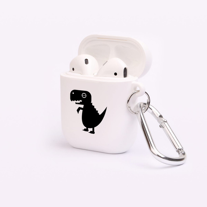 AirPods 1 & 2 Case, Protective TPU Box with Hook, Adorable T-Rex | iCoverLover Australia