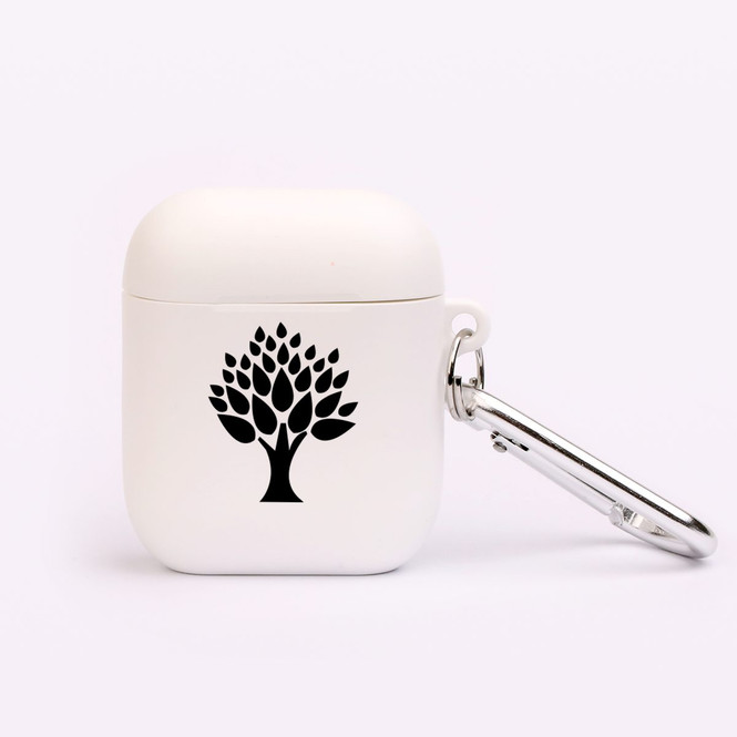 AirPods 1 & 2 Case, Protective TPU Box with Hook, Leafy Tree | iCoverLover Australia
