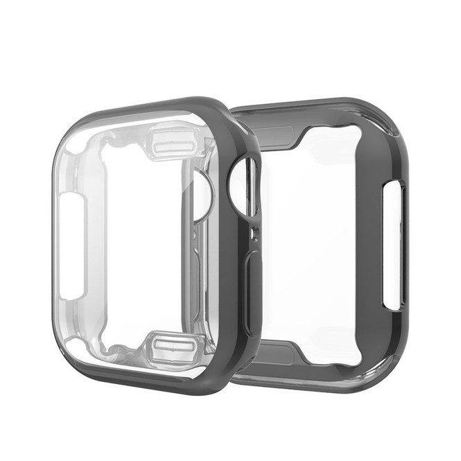 Apple Watch Series 5 & 4 (44mm) Case, Full Coverage Plating TPU Cover   iCoverLover Australia