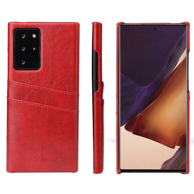 Samsung Galaxy Note 20, 20 Ultra Case Deluxe Protective Cover Red