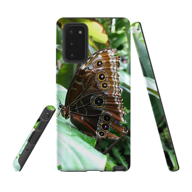 Armour Case, Tough Protective Back Cover, Butterfly Leaf | iCoverLover.com.au | Phone Cases