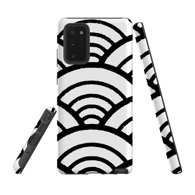 Armour Case, Tough Protective Back Cover, Japanese Folk Waves   iCoverLover.com.au   Phone Cases