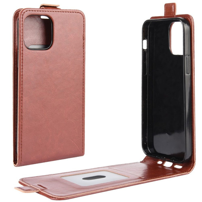 iPhone 12 Pro Max/12 Pro/12 mini Case, Vertical Flip PU Leather Cover with Card/Photo Slot   iCoverLover Australia