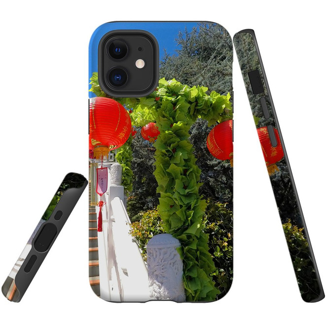 For Apple iPhone 12 Pro Max/12 Pro/12 mini Case, Tough Protective Back Cover, chinese lanterns | iCoverLover Australia