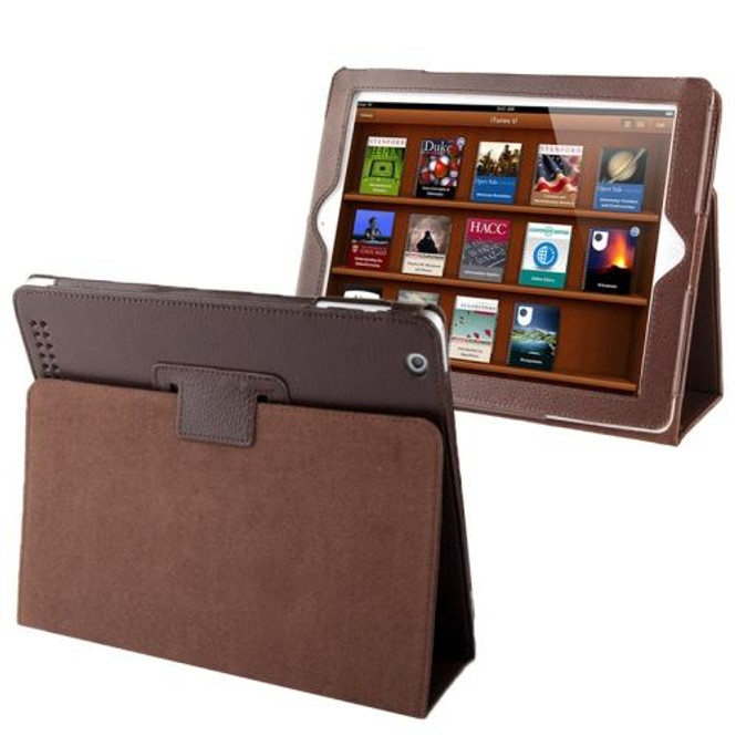 Coffee Lychee Leather iPad 2 / iPad 3 / iPad 4 Case | iPad Cases Australia | iPad 2 / 3 / 4 Cases | iCoverLover